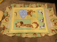 4 Piece Baby Crib bedding set **great condition**