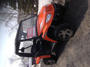 Side by sides Arctic Cat Prowler 2012