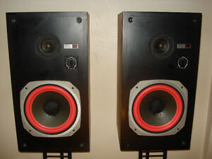 Vintage Sony SSU-2000 Speakers