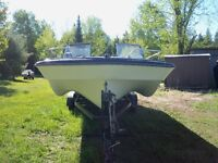 Hoping to sell the boat!