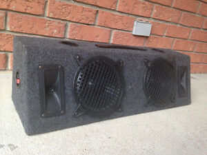 Subwoofer, Subs, Tweeters in a Ported Box