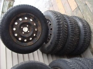UNIROYAL TIGER PAW ICE AND SNOW winter tires