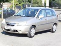 Suzuki Liana 1.6 GL, 75 000 Miles, FSH, 1 Years Mot, 3 Months Warranty