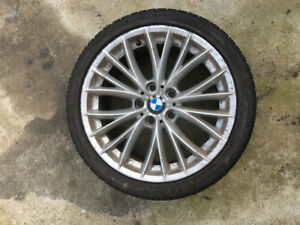 "18"" BMW 3 series rims and tires"