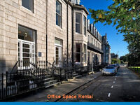 Fully Furnished - ( QUEENS GARDENS -AB15) Office Space to Let in Aberdeen