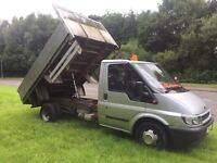 Ford transit tipper 90 ps t350 8 months MOT