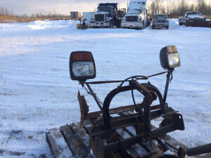 7 or 71/2 foot Myers plow and harness