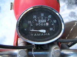 GREAT Vintage 1966 Yamaha scooter