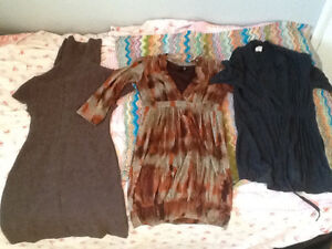 maternity lot of clothing size small , few medium