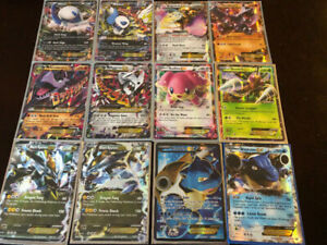 ABOUT 118 VALUABLE POKEMON EX CARDS