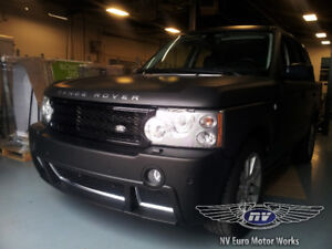 LAND ROVER RANGE ROVER SERVICE, MAINTENANCE AND REPAIR