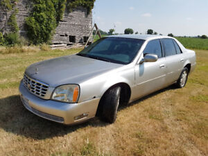 Cadillac Deville for sale! 2004 model.  Parts or repair as-is.