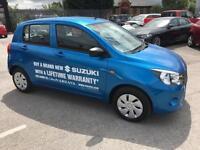 2017 Suzuki Celerio 1.0 SZ2 5dr Petrol blue Manual