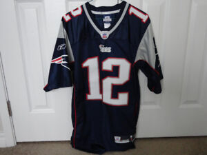 Tom Brady Reebok Authentic Jersey and Cap