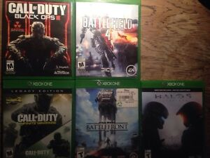 Assorted Xbox One games for sale