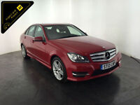 2013 MERCEDES C180 AMG SPORT BLUEEFFICIENCY 1 OWNER SERVICE HISTORY FINANCE PX