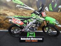 Kawasaki KXF 250 Motocross bike Pro circuit exhaust system