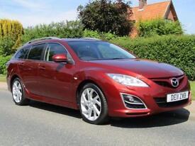 2011 Mazda 6 2.2d 180 BHP SPORT 5DR TURBO DIESEL ESTATE * 57,000 MILES * 1 OW...