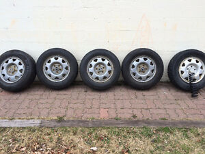 5 tires on rims 205 70 R 15 - now reduced by $200 St. John's Newfoundland image 1