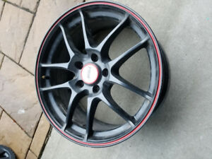 ROUES MAGS FOR MERCEDES 17 X 8.0  BOLT PATTERN 5*112