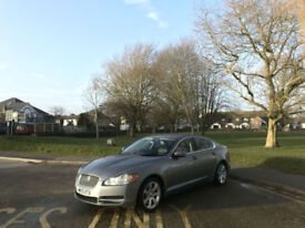 2010 Jaguar XF 3.0 TD V6 Auto Luxury 4 Door Saloon Grey (1 Owner From new)