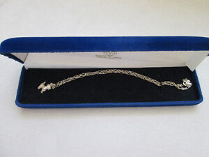 16 INCH STERLING SILVER CHAIN WITH PUPPY DOG ITALY 925 West Island Greater Montréal image 2
