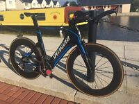 Specialized shiv TT Time Trial Aero carbon wheels Like new