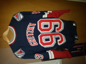 Gretzky New York Jersey & Team Canada