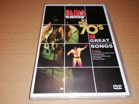 Elvis In the 70's DVD.