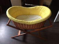 Silver cross crib excellent condition
