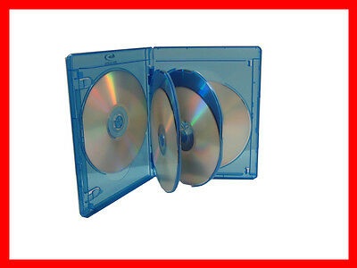 VIVA ELITE Blu-Ray Replace Case Hold 6 Discs 5 Pk (6 Tray) 15mm Storage Holder