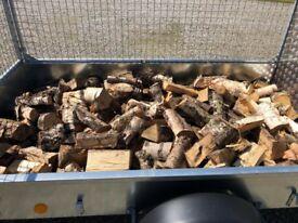 SOLD.. Split Hardwood logs SOLD