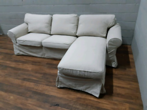 Free delivery: Ikea Ektorp sectional
