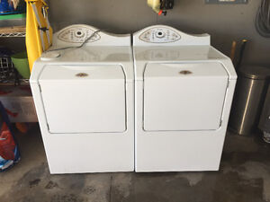 Maytag Neptune Front Load Washer and Dryer