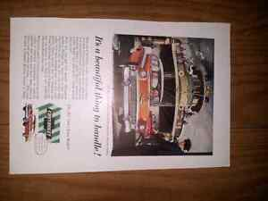 1956 Chevrolet bel Aire advertisement Kawartha Lakes Peterborough Area image 1