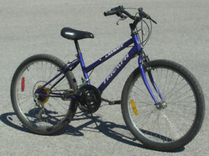 "YOUTH SIZE FEMALE 24"" TRIUMPH DASER 15 SPEED MTB ONLY $75.00!"