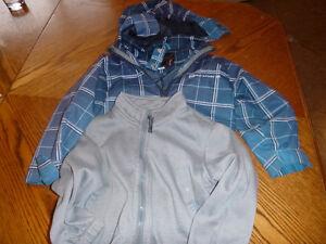 Manteau 5T avec doublure pour garçon