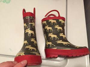 Euc hatley rain boots