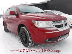 2009 DODGE JOURNEY R/T 4D UTILITY FWD R/T