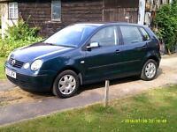2003 Volkswagen Polo 1.4 ( 75bhp ) SE