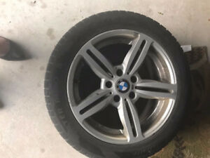215/55R17 BMW M RIMS WITH WINTER TIRES