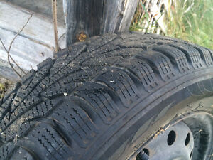 Brand new winter tires and rims 215/60r16