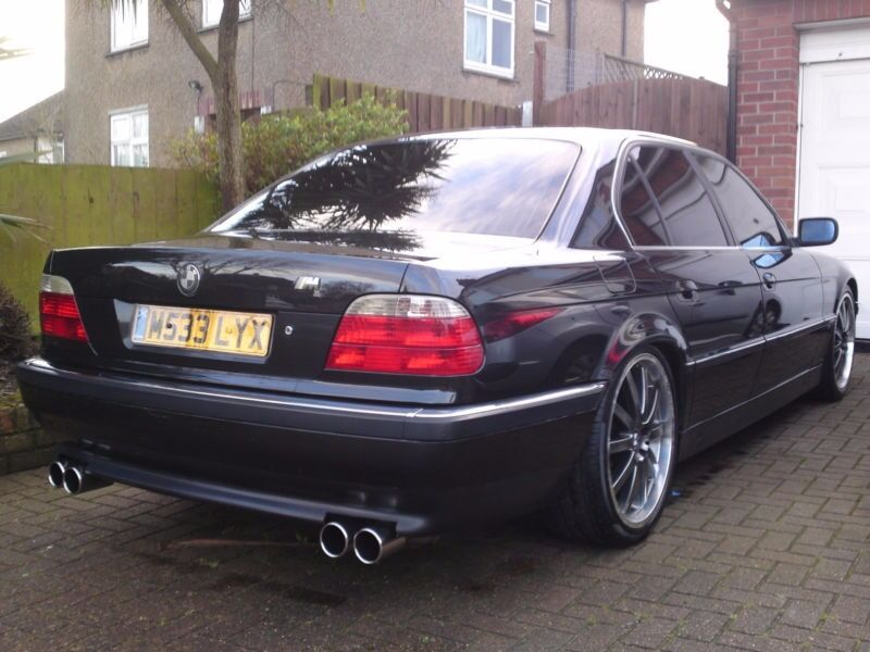 Bmw E38 730i V8 Auto 20 Quot Rims Lowered Stainless Exhaust See Video Swap Subaru Or W H Y In