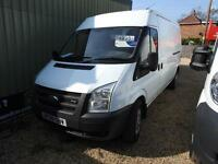 FORD TRANSIT 350 LWB SHR 115tdci, White, Manual, Diesel, 2008