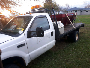 F350 With Plow and Salter