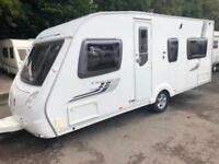 ☆ 2009/10 SWIFT CHALLENGER 540 4 BERTH FIXED BED TOURING CARAVAN ☆