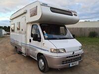 4 - 5 Berth Motor home Camper Van 57K Miles Full MOT