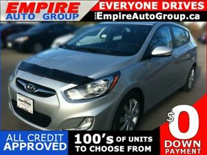 2012 HYUNDAI ACCENT SE * SUNROOF * PREMIUM CLOTH SEATING * BLUET