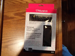 ALURATEK UNIVERSAL LAPTOP / NOTEBOOK POWER ADAPTER