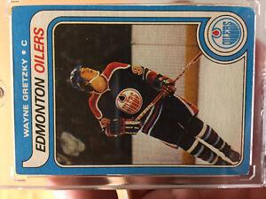 TOPPS Wayne Gretzky rookie card